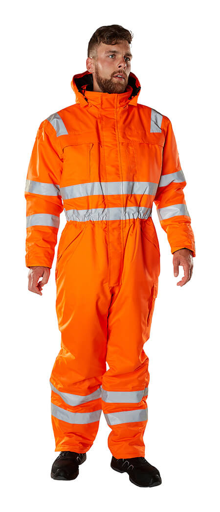 Model - Winteroverall Hi-Vis Orange - MASCOT® SAFE ARCTIC