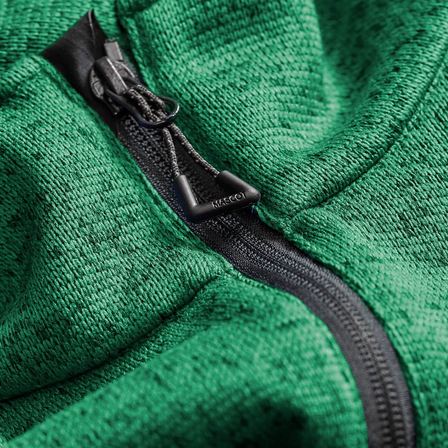 Grün - MASCOT® ACCELERATE Strickjacke - Detail