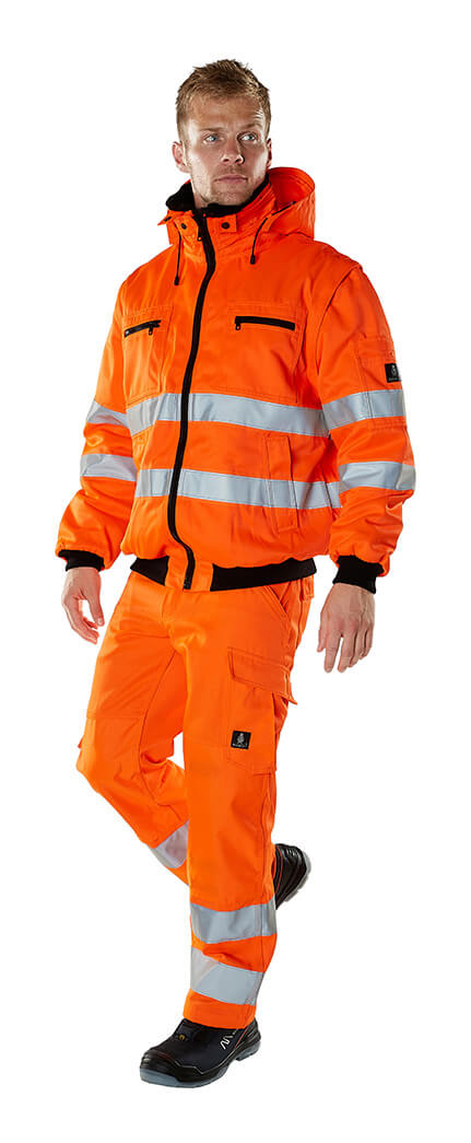 Winterkleidung - MASCOT® SAFE ARCTIC - Hi-Vis Orange - Model