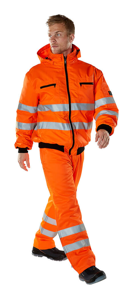 MASCOT® SAFE ARCTIC - Model - Hi-Vis Orange - Jacke & Hose